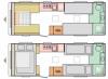 2022 Adria Altea 612 DL Tyne New Caravan
