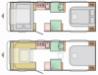 2022 Adria Altea 622 DP Dart New Caravan