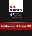 Best Newcomer of the Year 2010 by Adria