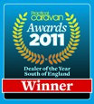South of England Dealer of the Year 2011 by Practical Caravan