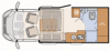 2022 Dethleffs Just 90 T 6762 New Motorhome
