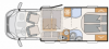 2022 Dethleffs Trend T 6757 DBL New Motorhome